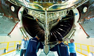 Testing A Trent 1000 Aero Engine At The Seletar Assembly Test Unit 960Px